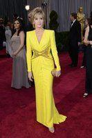 Seventy-five year old Jane Fonda looks beautiful at the 2013 Academy Awards.