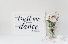 Instant Download Gold Trust Me You Can by IrresistibleInvites1