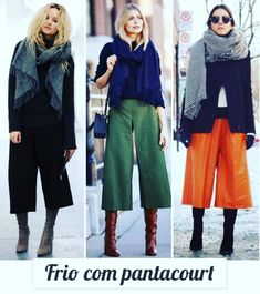 29 Best Ideas for how to wear culottes in winter trousers Fall Winter Outfits, Autumn Winter Fashion, Winter Boots, Winter Clothes, Fall Fashion, Culotte Style, How To Wear Culottes, Culottes Outfit Work, Culottes Outfits