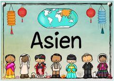 """Ideenreise: Themenplakat """"Asien"""""""
