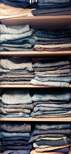 Hummm, I am pretty sure I have more pairs of Jeans than this...should I readily admit to that?