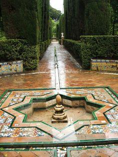 Jardines del Alcázar de Sevilla