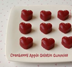 Recipe: Cranberry Apple Gelatin Gummies post image