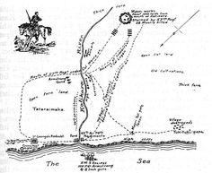 The battlefield of Katikara (1863). This Day in History: Mar 28,1860: First Taranaki War: The Battle of Waireka begins. http://dingeengoete.blogspot.com/