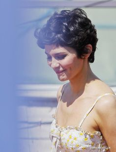 another angle of audrey tautou