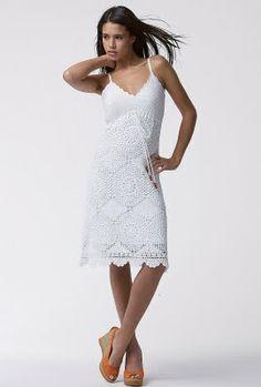 innovart en crochet: Blanco en toda ocasión...
