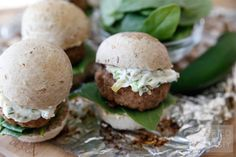 If you love jalapeno poppers you will love these sliders. With grilling season in full force add this to the menu to switch things up! Jalapeno Poppers, Turkey Burger Sliders, Grilled Turkey, Edible Creations, Wrap Recipes, Entrees, Chicken Recipes, Appetizers, Poultry