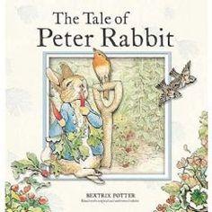 Join Peter Rabbit as he makes his mischievous romp through Mr. McGregor's vegetable garden.