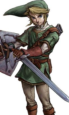 What Nintendo Character Are You - I got Link, a hopeless romantic who is pretty shy. At home in the outdoors, and willing to do anything for the people you love. Not to mention everybody loves my hair. ;)
