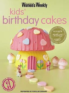 Booktopia has Kids' Birthday Cakes, Imaginative, Eclectic Birthday Cakes for Boys and Girls, Young and Old by The Australian Women's Weekly. Buy a discounted Paperback of Kids' Birthday Cakes online from Australia's leading online bookstore. Birthday Cake Girls, It's Your Birthday, Birthday Cakes, Birthday Ideas, Alien Cake, Drink Recipe Book, Pirate Kids, Womans Weekly, Party Entertainment