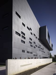 Newcastle College. Design by RMJM. EQUITONE facade panels. #architecture #material #facade