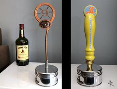 Piston Trophy Display Stand for your taphandles