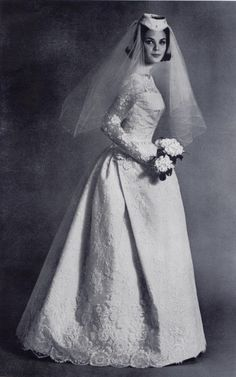 Lace Wedding Dress 1960 S