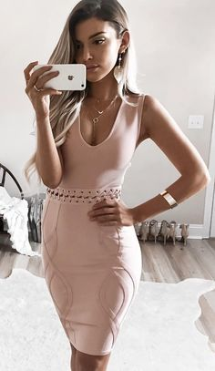 #fall #outfits ·  Camel Dress