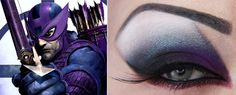 The Avengers Movie Inspires Some Wicked Eye Makeup (Which Hero's Look Do You Have Your Sights On?)   StyleBlazer