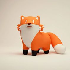 Cute & Quirky 3D Characters by Jaime Álvarez | Daily design inspiration for creatives | Inspiration Grid