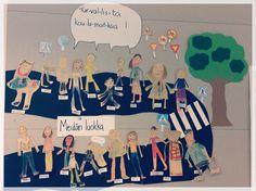 Turvallista koulumatkaa 1.lk Preschool, Family Guy, Education, Crafts, Fictional Characters, Kunst, Manualidades, Kid Garden, Nursery Rhymes