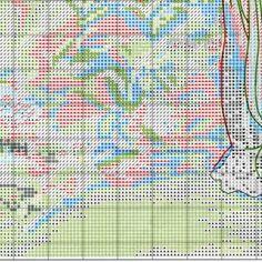 Схема вышивки В ее саду (Dimensions) 7 из 8
