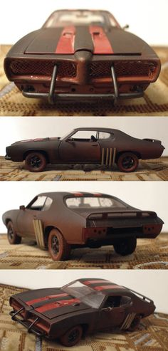 This is my custom model Pontiac GTO 1969 1:24 from Welly WIP here