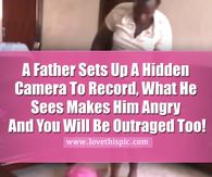 A Father Sets Up A Hidden Camera To Spy On The Nanny, But What He Records... SHOCKING!