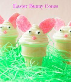 #Easter Bunny Cones