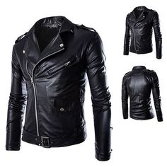 If you haven't yet added a leather section in your closet, You are missing something really crazy, Grab a biker leather jacket and check out your attitude when riding on bike and creating impressions.