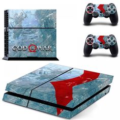 God of War 3 Full Cover Faceplates Skin Sticker Decal For PlayStation 4 Console & Controllers Skin Sticker Vinyl Playstation, Xbox, Gaming Accessories, Simulation Games, God Of War, Natural Disasters, Wii, The Help, Sony