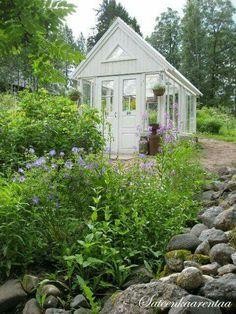 Elegant shed