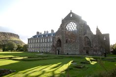 Palace of Holyroodhouse in Midlothian, Midlothian