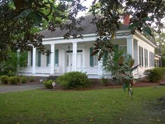 I like that this has a nice porch + it's more sophisticated with the molding etc..OldHouses.com - 1884 Victorian - Southern Historic Victorian in Cuthbert, Georgia