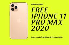 How to get free iphone 11 pro max- Win iPhone 11 Pro Max Giveaway 2020 - Giveaway Monkey Get Free Iphone, Buy Iphone, Iphone 6 S Plus, Iphone 11, Nouvel Iphone, Iphone Online, Macbook Pro Tips, Free Iphone Giveaway, Simple Signs
