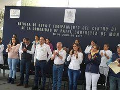 Entrega FDS Centro de Salud en Pathé Cadereyta    http://ift.tt/2usnoKf