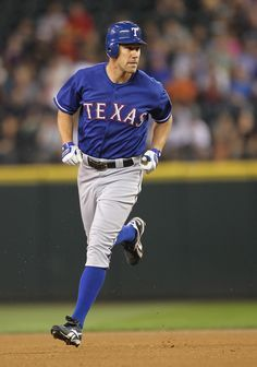 David Murphy... On my fantasy baseball team and my top 3 Rangers player. LOVE HIM