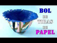 Bol de tiras de papel - YouTube