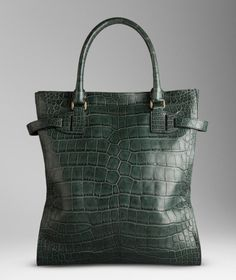 burberry bags shoes accessories-ss2012 alligator tote