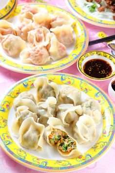 tomato, egg and pork dumpling | Taiwanese Food