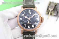 Zenith Pilot Type 20 Chronograph Extra Special Real Bronze Case A7750