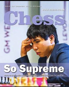 GM So Chess, Tours, Gingham