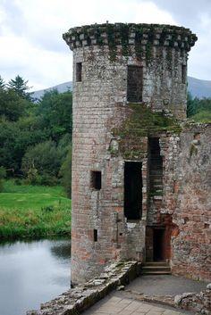 Murdoch Tower, Caerlaverock Castle, Dumfries, Scotland