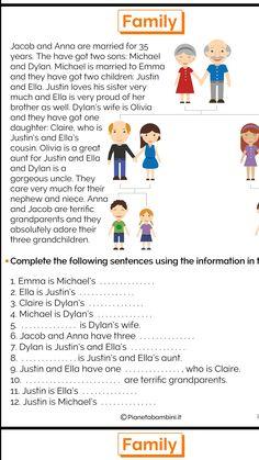 Stories english English Worksheets For Kids, English Lessons For Kids, Kids English, English Reading, English Activities, Learn English, English Language Learning, Teaching English, Ingles Kids