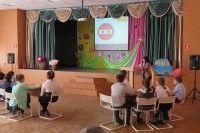 В Курчатове прошла викторина по ПДД в честь 45-летия со дня образования отрядов ЮИД