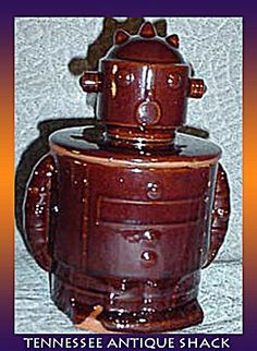 Robot Vintage Cookie Jar