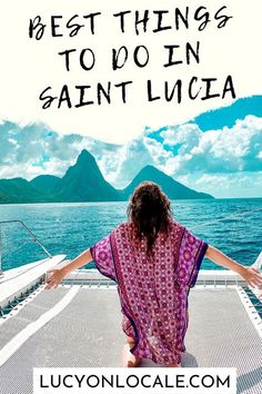 I've prioritized the activities that need to be at the top of your St. Lucia travel to-do list! #travel #travelblog #blog #blogger #travelblogger #destination #trip #stlucia #saintlucia #caribbean #destination #island #tropical #paradise #westindies #pitons Caribbean Vacations, Island Beach, Best Places To Travel, Tropical Paradise, Vacation Trips, Where To Go, Travel Inspiration, Traveling By Yourself, Things To Do
