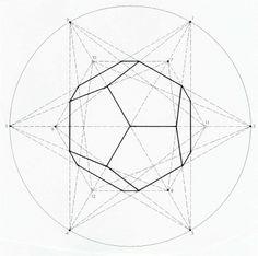 Geometric patterns/shapes overlaid d Geometric Patterns, Geometric Form, Geometric Designs, Geometric Sculpture, Geometry Art, Sacred Geometry, Tattoo Geometrique, Material Didático, Platonic Solid