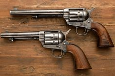 Create a single action revolver, simple bolt action, and OTF switchblade Colt Single Action Army, Single Action Revolvers, Smith And Wesson Revolvers, Old West Photos, Cowboy Action Shooting, Colt 45, Lever Action, Hunting Guns, Hog Hunting