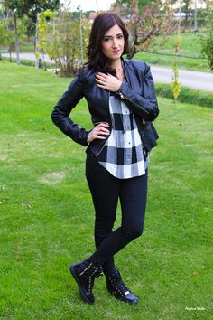 Outfit tartan style