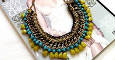 The Rules of The Statement Necklace: Know what's right and what's wrong when you wear your statement piece today. Diy Necklace, Washer Necklace, Statement Jewelry, Bling, Jewels, Unique, Accessories, Jewellery, Google Search
