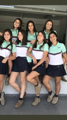 Egresados Cheer Outfits, Summer Outfits, Polo Tees, Polo Shirt, Senior Shirts, Sport Fashion, Womens Fashion, Cheer Skirts, Designer