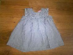 chloe louise baby girls  blue/white striped short sleeve summer dress 0-3m Striped Shorts, Baby Girls, Chloe, Short Sleeves, Blue And White, Summer Dresses, Stuff To Buy, Fashion, Summer Sundresses