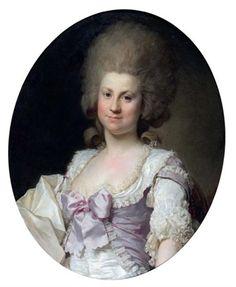 Joseph-Siffred Duplessis, Portrait de la duchesse de Maillé